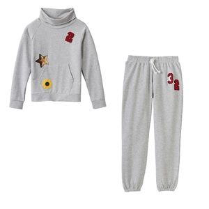 Cloud Chaser Fleece Pullover & Sweatpants Set 8-10